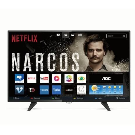 Imagem de Smart TV Led Full HD AOC 43 Polegadas 2 USB 3 HDMI LE43S5970