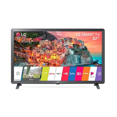 Imagem de Smart TV Led LG 32 Polegadas HD Wi-Fi Entrada USB HDMI 32LK615BPSB