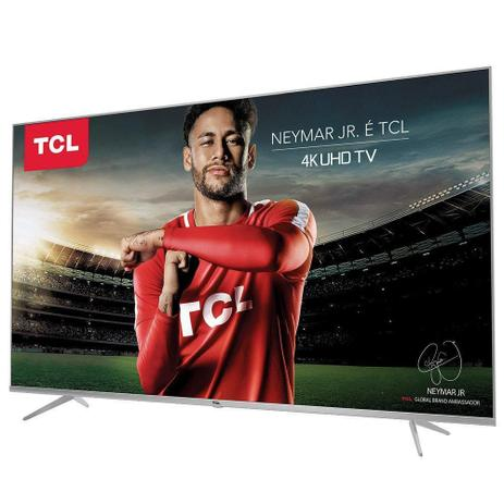 "Smart TV LED Semp TCL 50"" Ultra HD 4K HDR Wi-Fi 50P6US"
