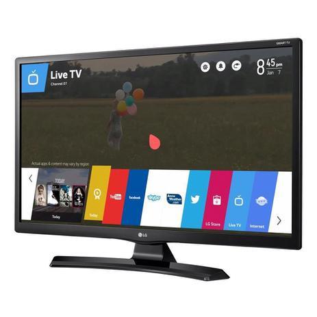 Imagem de Smart TV Monitor LG 28, LCD LED, HD, 8ms, HDMI, USB, Preto - 28MT49S-PS