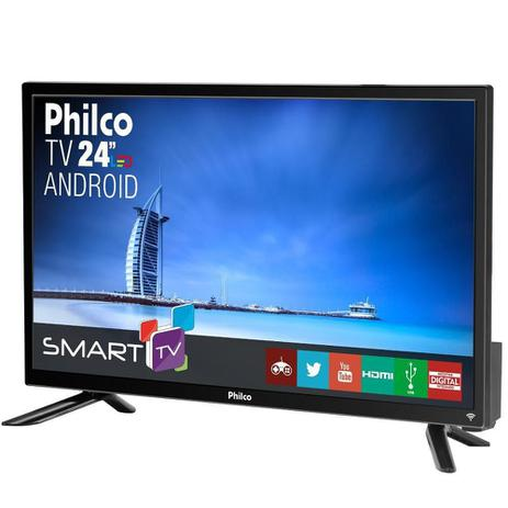 "Smart Tv Philco 24"" LED Full HD Android PTV24N91SA"