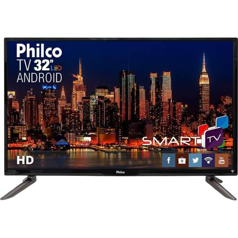 13c2b8bbad2 Smart TV Philco Led 32 Polegadas HD com Conversor Digital Integrado  PH32C10DSGWA