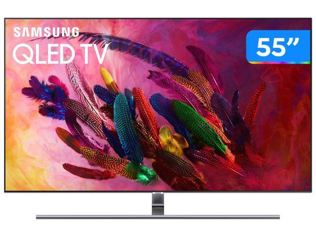 "Imagem de Smart TV QLED 55"" Samsung 4K/Ultra HD Q7FN"