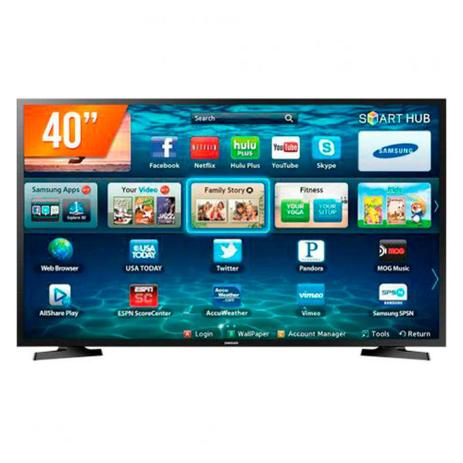 Smart TV Samsung 40 Polegadas Led Full HD LH40RBHBBBG / ZD gf5bge2e47