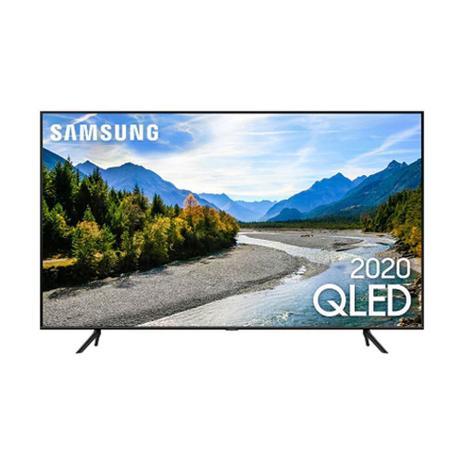 Imagem de Smart Tv Samsung 55 Polegadas QLED 4K Ultra HD QN55Q60TAGXZD