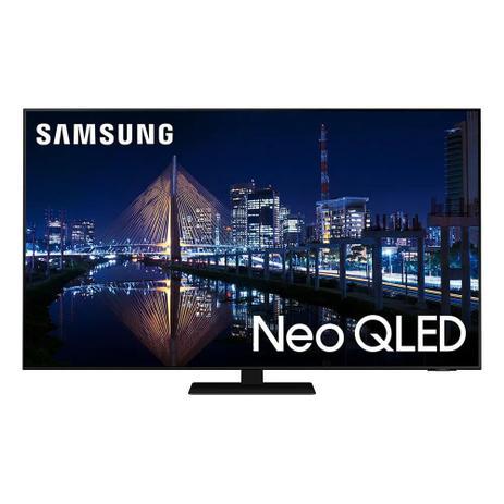 Imagem de Smart TV Samsung Neo QLED 4K 55QN85A Desing Slim Mini Led Processador IA Som em Movimento
