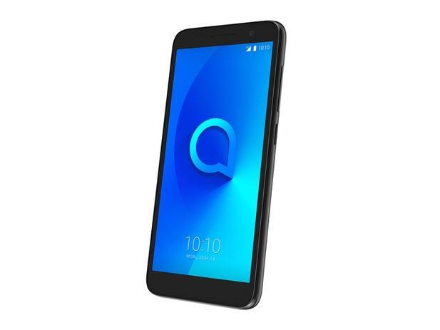 Imagem de Smartphone Alcatel 1 5033J, Android Oreo Versão GO, Dual chip, Processador Quad Core 1.28Ghz, Câmera traseira de 8MP e f
