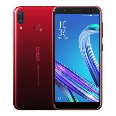 Smartphone Asus ZB555 Zenfone Max M2 Vermelho 32 GB