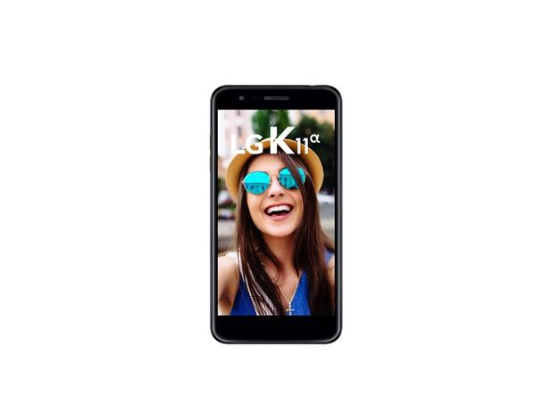 Imagem de Smartphone Lg K11 ALPHA LMX410BTW, Android 7.1, Dual Chip, Processador Octa-Core 1.5 GHz, Câmera principal 8 MP e Fronta