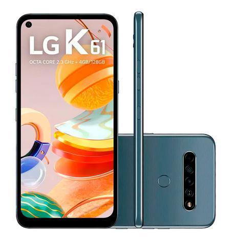 Imagem de Smartphone LG K61 128GB 4GB RAM Tela 6,55