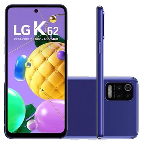 Imagem de Smartphone LG K62 LMK520BMW 64GB Tela 6.60