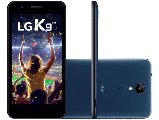 Imagem de Smartphone LG K9 TV 16GB Azul 4G Quad Core
