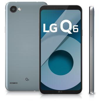 Imagem de Smartphone / LG / Q6 Plus M700A / Tela de 5.5 / Dual Sim / 64GB - Azul