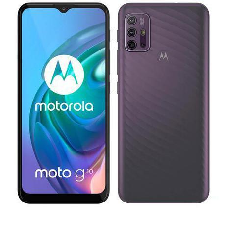 Imagem de Smartphone Moto G10 Cinza Aurora, com Tela de 6,5
