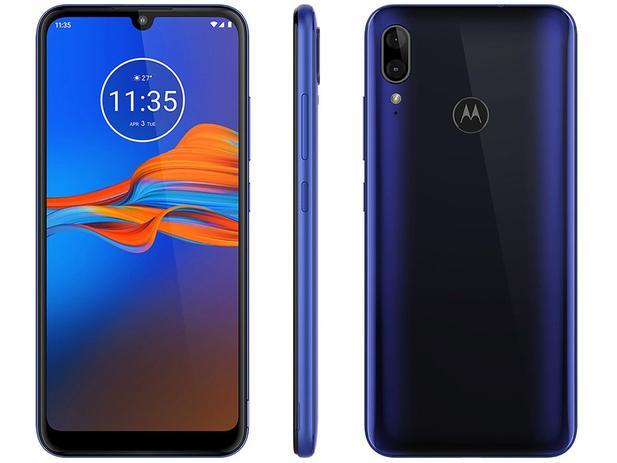 Imagem de Smartphone Motorola E6 Plus 32GB Azul 4G 2GB RAM