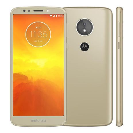 Imagem de Smartphone Motorola Moto E5 16GB Ouro XT1944 Tela 5.7 Dual Chip 4G Camera Traseira 13MP