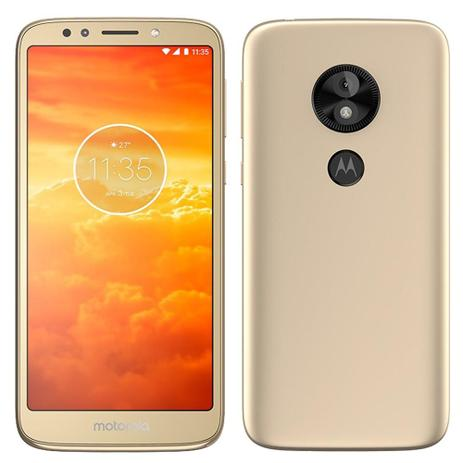 Imagem de Smartphone Motorola Moto E5 Play, Dual Chip, Dourado, Tela 5.3, 4G+WiFi, Android 8.1, 8MP, 16GB