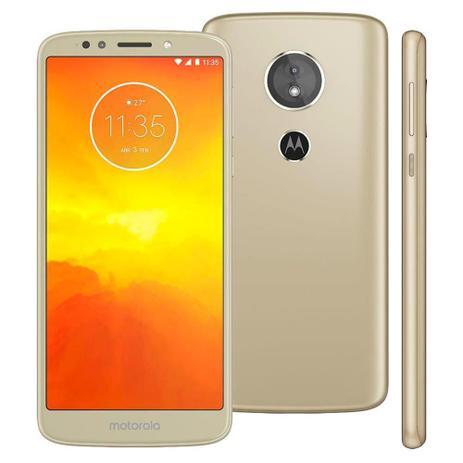 Imagem de Smartphone Motorola Moto E5 XT1944, 32GB, 5.7, Dual Chip, Android 8.0, 4G, 13MP - Dourado