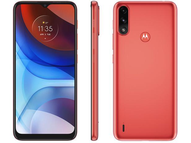 Imagem de Smartphone Motorola Moto E7 Power 32GB Vermelho