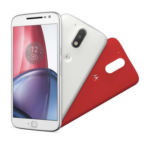 Imagem de Smartphone Motorola Moto G4 Plus Xt1641 5.5 32gb 4g Branco