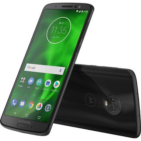 Imagem de Smartphone Motorola Moto G6 Dual 32GB Câmera 12MP+5MP Tela 5.7 Polegadas XT1925-3 Preto