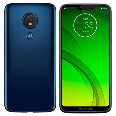 5fb6d9be9 Smartphone Motorola Moto G7 Power Azul Navy