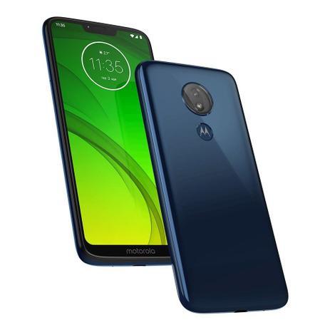 d0c1c786c Smartphone Motorola Moto G7 Power XT1955 32GB 12MP Tela 6