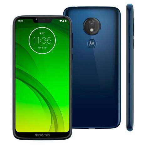Imagem de Smartphone Motorola Moto G7 Power XT1955 64GB 4GB RAM 12MP Tela 6.2 Azul Navy