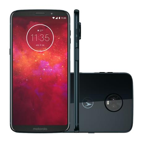 be9a34108 Smartphone Motorola Moto Z3 Play Dual Chip Android Oreo - 8.0 Tela 6 Octa-Core  1.8 GHz 64GB 4G Câme