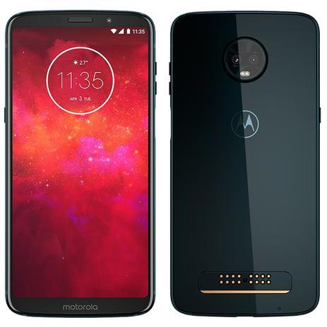 Imagem de Smartphone Motorola Moto Z3 Play, Dual Chip, Índigo, Tela 6.1