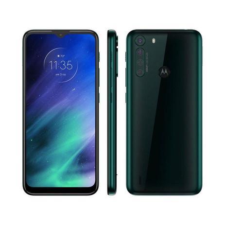 """Imagem de Smartphone Motorola One Fusion 128GB 4GB RAM Câmera Quádrupla 48MP Tela de 6.5"""" Esmeralda"""