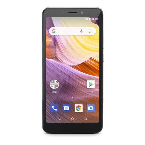Imagem de Smartphone Multilaser Ms50g Tela 5,5 Pol. 8gb, 1gb, Desbloqueado, Prata /preto - Nb747