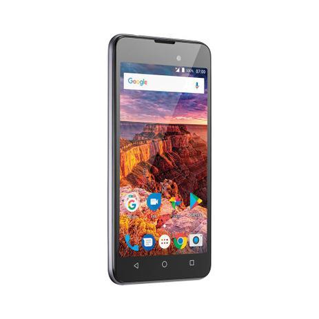Imagem de Smartphone Multilaser MS50L Dual Chip Android 7 Tela 5 8Gb Câmera 8MP