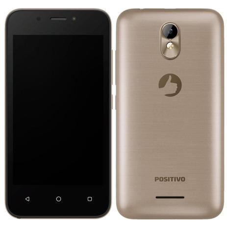 Imagem de Smartphone Positivo Twist Mini Dual Chip, Dourado, Tela 4