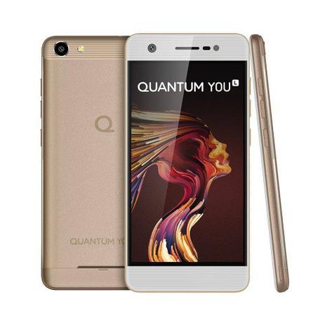 fbffa56bc Smartphone Quantum YOU L 32GB 4G Desbloqueado Dourado - Celulares ...