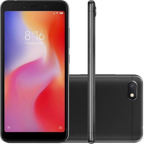Imagem de Smartphone Rédmi 6A Tela 5.45 16GB Camera 13MP - Preto