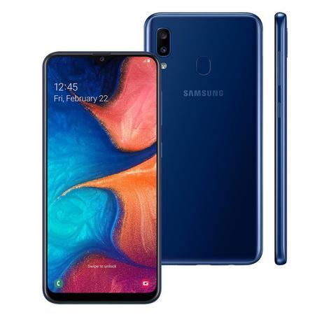 Smartphone Samsung A205 Galaxy A20 Azul 32 GB