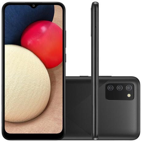 Imagem de Smartphone Samsung Galaxy A02s Tela 6.5 Polegadas 32GB, 3GB RAM