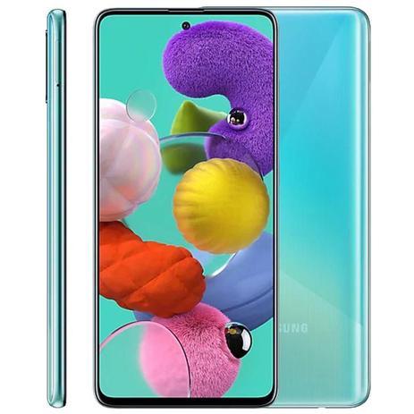 """Imagem de Smartphone Samsung Galaxy A51, 6,5"""", 128GB, Octa-Core, Câmera Quádrupla, Azul"""