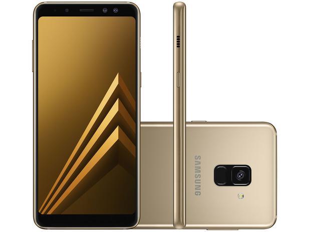 Imagem de Smartphone Samsung Galaxy A8 64GB Dourado