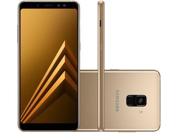 Smartphone samsung galaxy a8 64gb dourado dual chip 4g cm 16mp smartphone samsung galaxy a8 64gb dourado dual chip 4g cm 16mp selfie 16mp 8mp tela 6 reheart Gallery