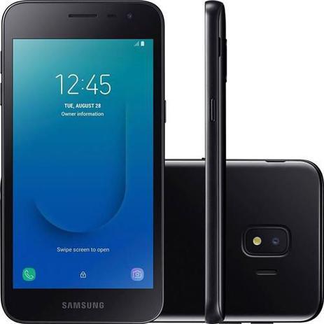 Imagem de Smartphone Samsung Galaxy J2 Core 16GB Dual Chip Android 8.1 QuadCore 1.4 Ghz Cam 8mp - Preto