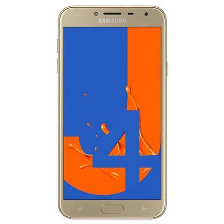 "ffa44f353 Smartphone Samsung Galaxy J4 32GB Dual Chip Android Quad-Core Tela 5.5"" 4G Câmera  13MP"