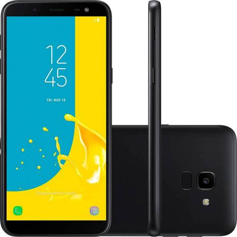 Imagem de Smartphone Samsung Galaxy J6, Preto, J600G, Tela de 5.6