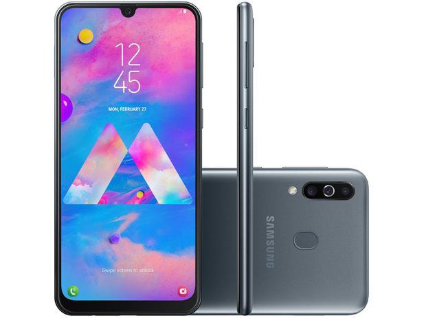 Imagem de Smartphone Samsung Galaxy M30 64GB Preto 4G