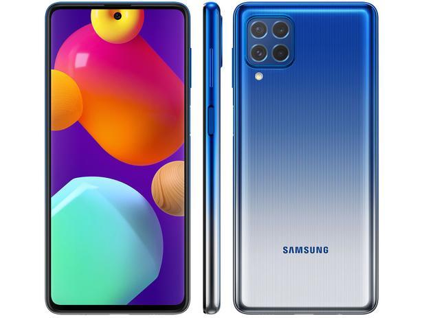 Imagem de Smartphone Samsung Galaxy M62 128GB Azul