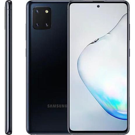 """Imagem de Smartphone Samsung Galaxy Note 10 Lite, 6,7"""", 128 GB, Câmera Tripla, Preto"""