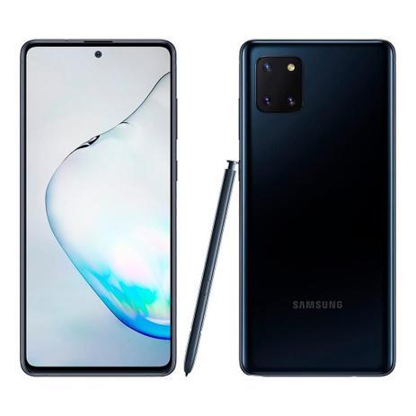 Imagem de Smartphone Samsung Galaxy Note 10 Lite Preto, Tela 6.7