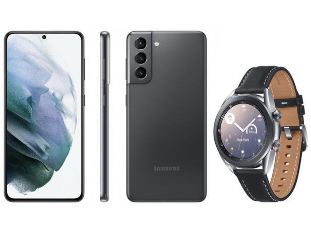 Imagem de Smartphone Samsung Galaxy S21 128GB Cinza 5G
