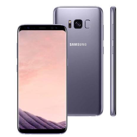 "Imagem de Smartphone Samsung Galaxy S8, 64GB, 5.8"", Android 7.0, 4G, 12MP - Ametista"